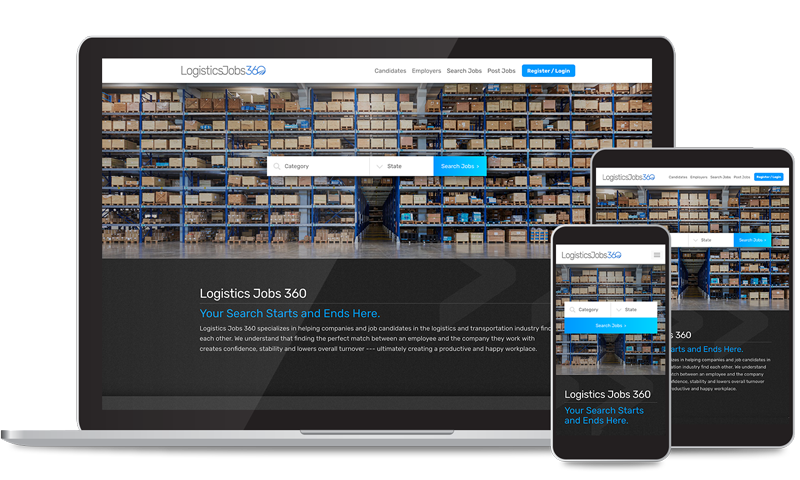 Logistics Web Design & Development