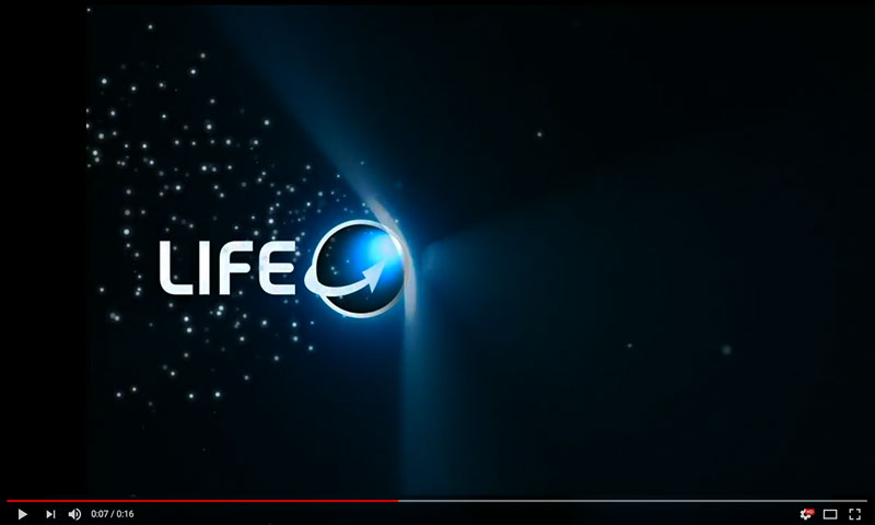 Life Revolution Logo Animation