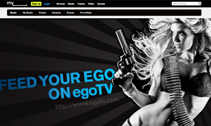 EgoTv Graphic Design