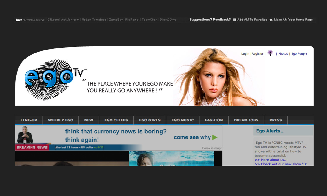 EgoTv Creative Web Marketing