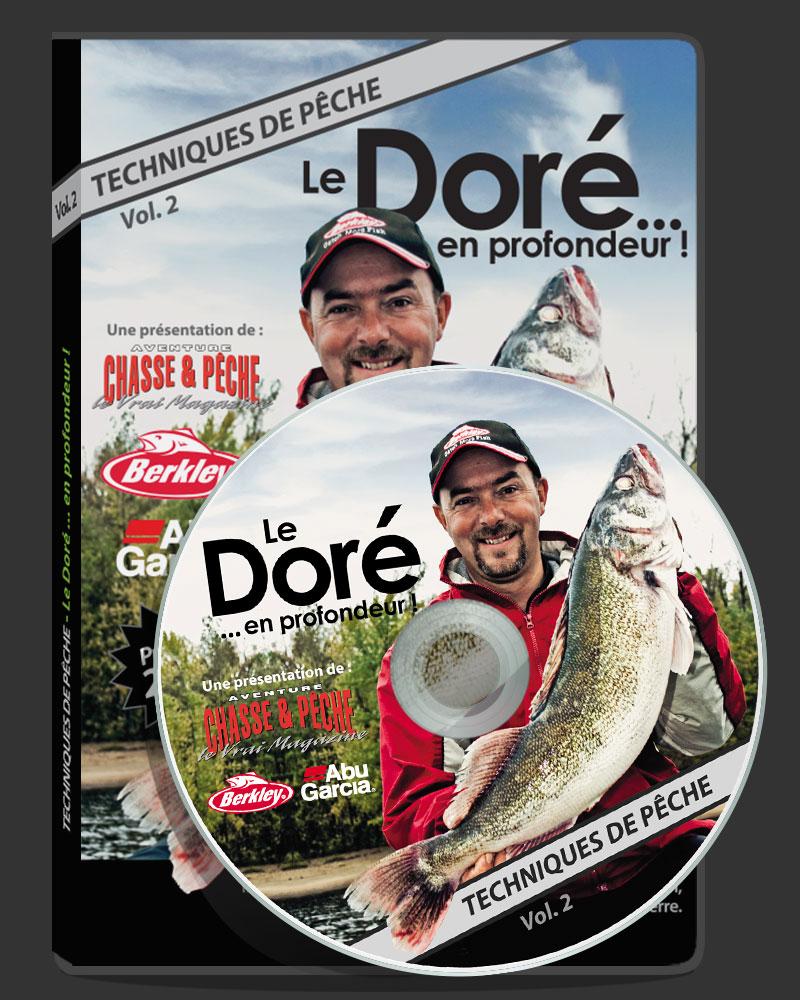 Design - Pochette DVD Pêche