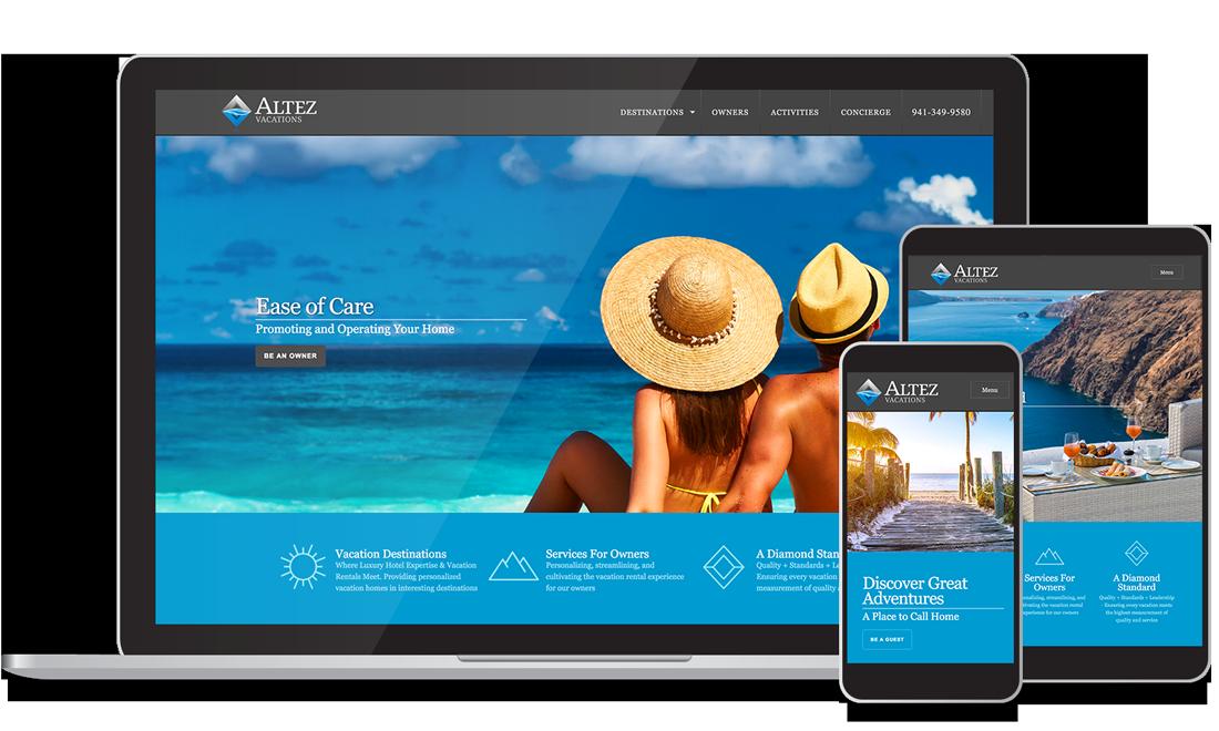 Site Web - Location de Vacances