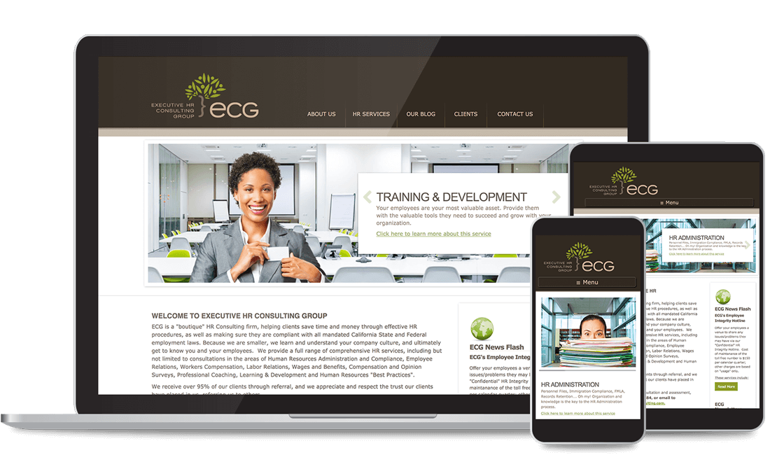 ECG Custom Web Design