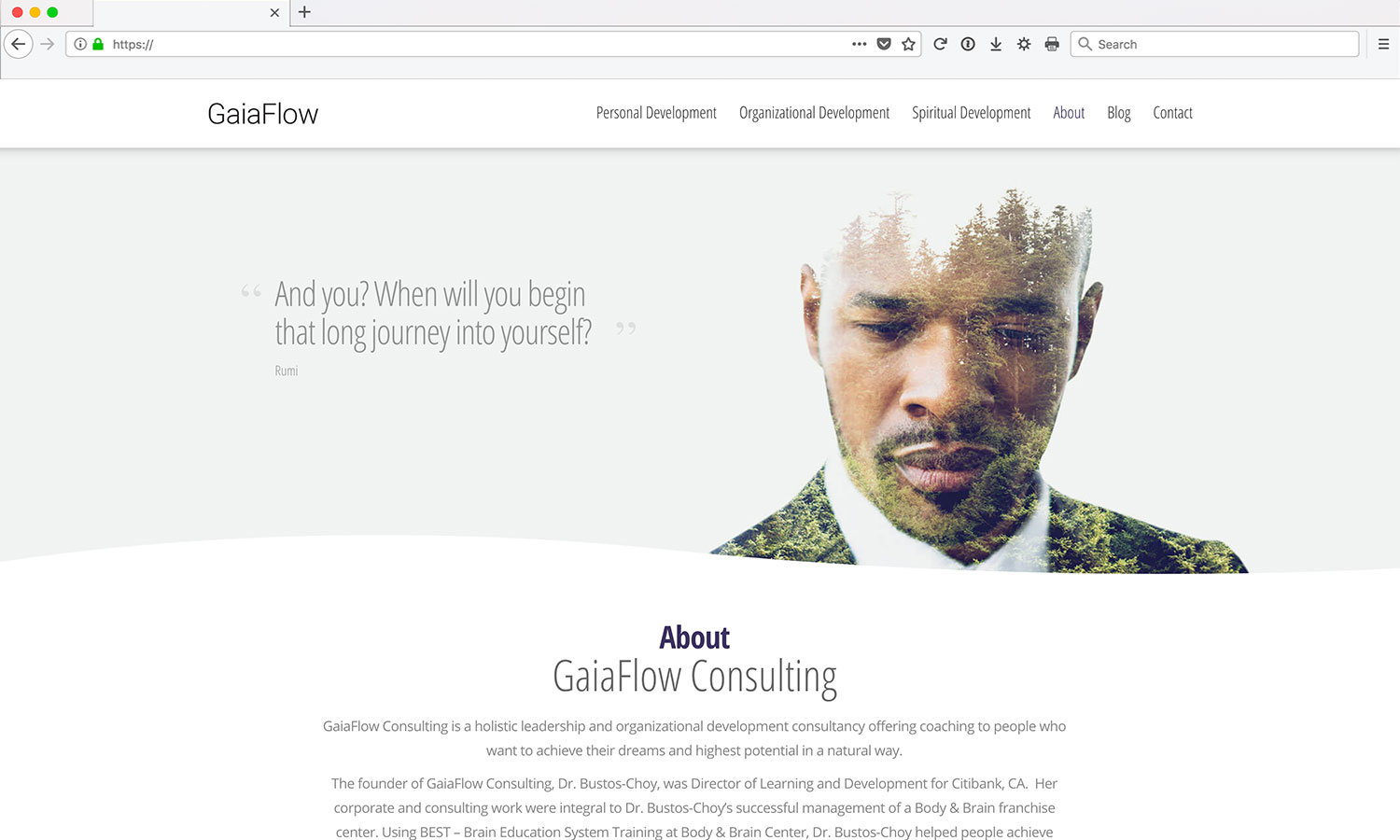 Life Coaching Website Design