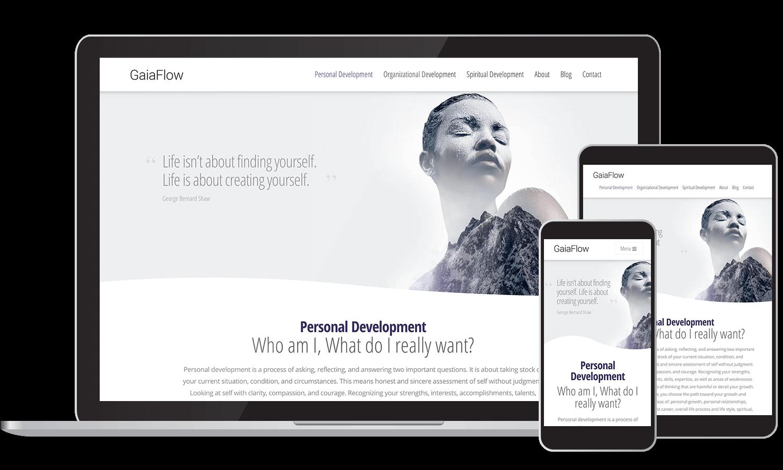 Site Web - Développement personnel