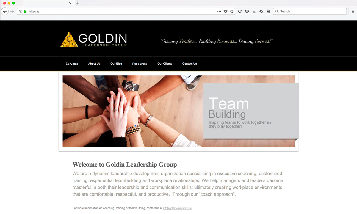 Goldin Custom Web Development