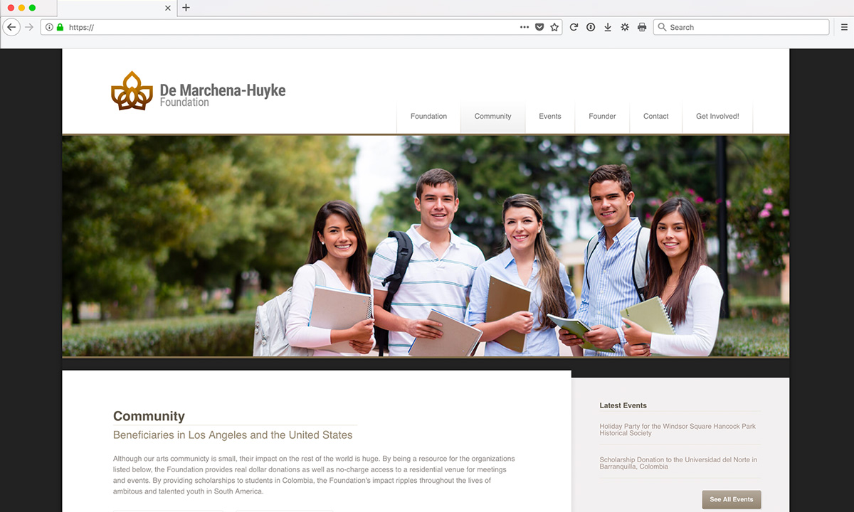 Huyke Foundation Website Services