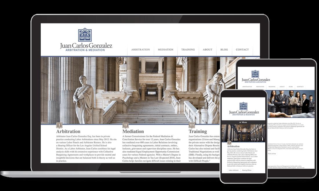 Site Web - Arbitration & Médiation