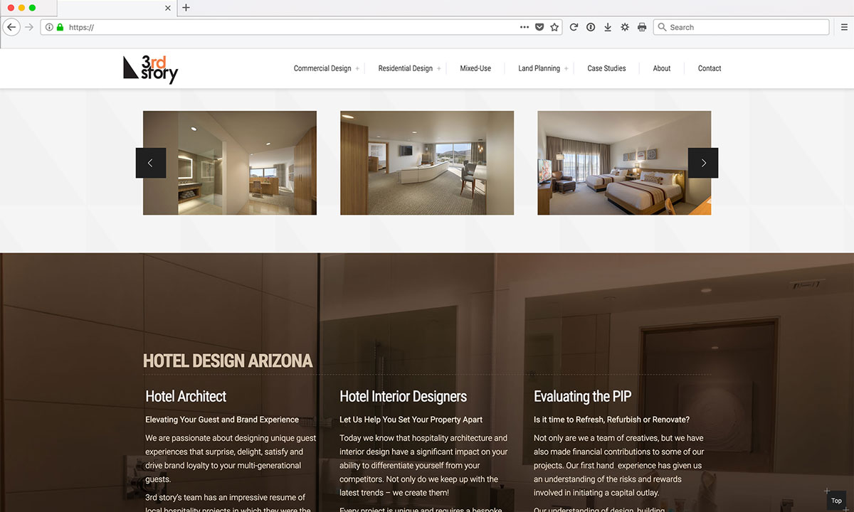 3rdstory Wordpress Website