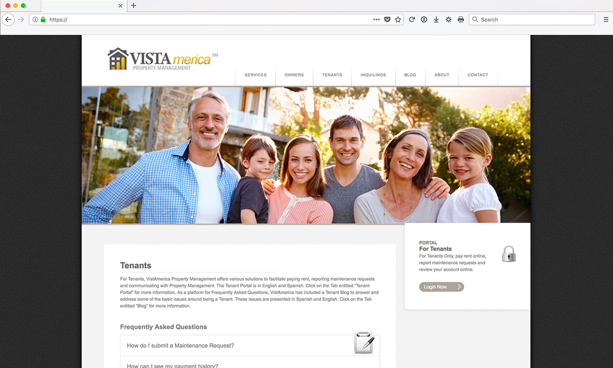 Vistamerica Website Services
