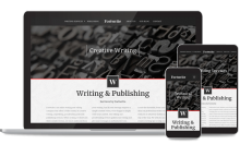 Writer Website Design