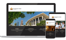 Huyke Foundation Custom Web Design