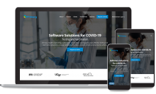 COVID-19 Website Design & Development